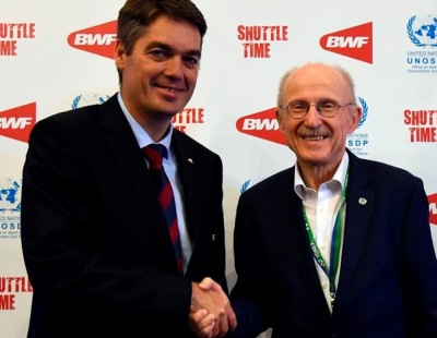BWF and UNOSDP in 'Grassroots' Partnership