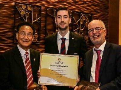 BWF Gets 'Sustainability' Award