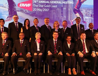 New BWF Council Elected for 2017-2021