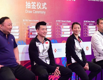 Tricky Group for World Champions at HSBC BWF World Tour Finals 2019