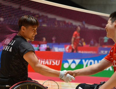 Para Badminton Tournament Update