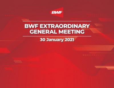 Minutes, Attendance and Feedback – BWF EGM 2021 – Saturday 30 January