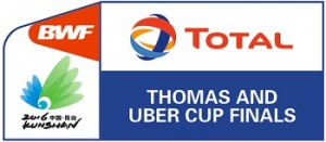 Thomas & Uber Cup Finals 2016